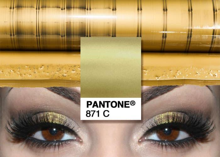 pantone oro 871