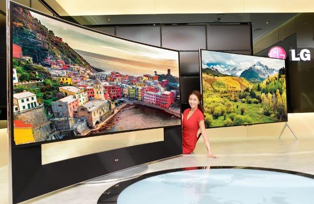 LG televisore CES 2014