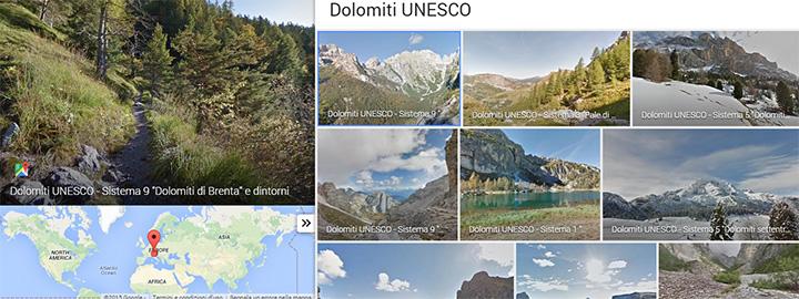 Dolomiti UNESCO - Street View - Google Maps