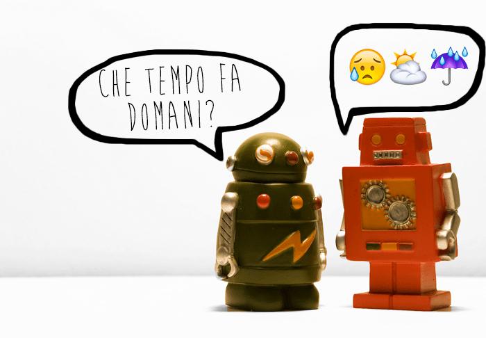 i chatbot e i bot cambiano modo di comuinicare