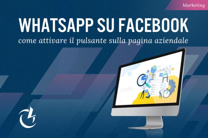 Whatsapp pulsante su Facebook