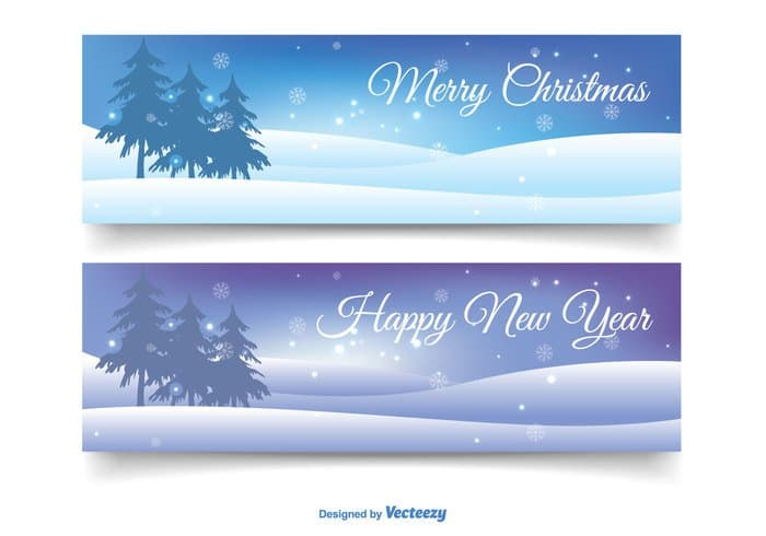 christmas-banner-set-vector