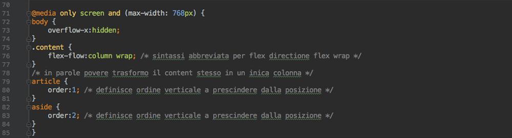 Flexbox-layout