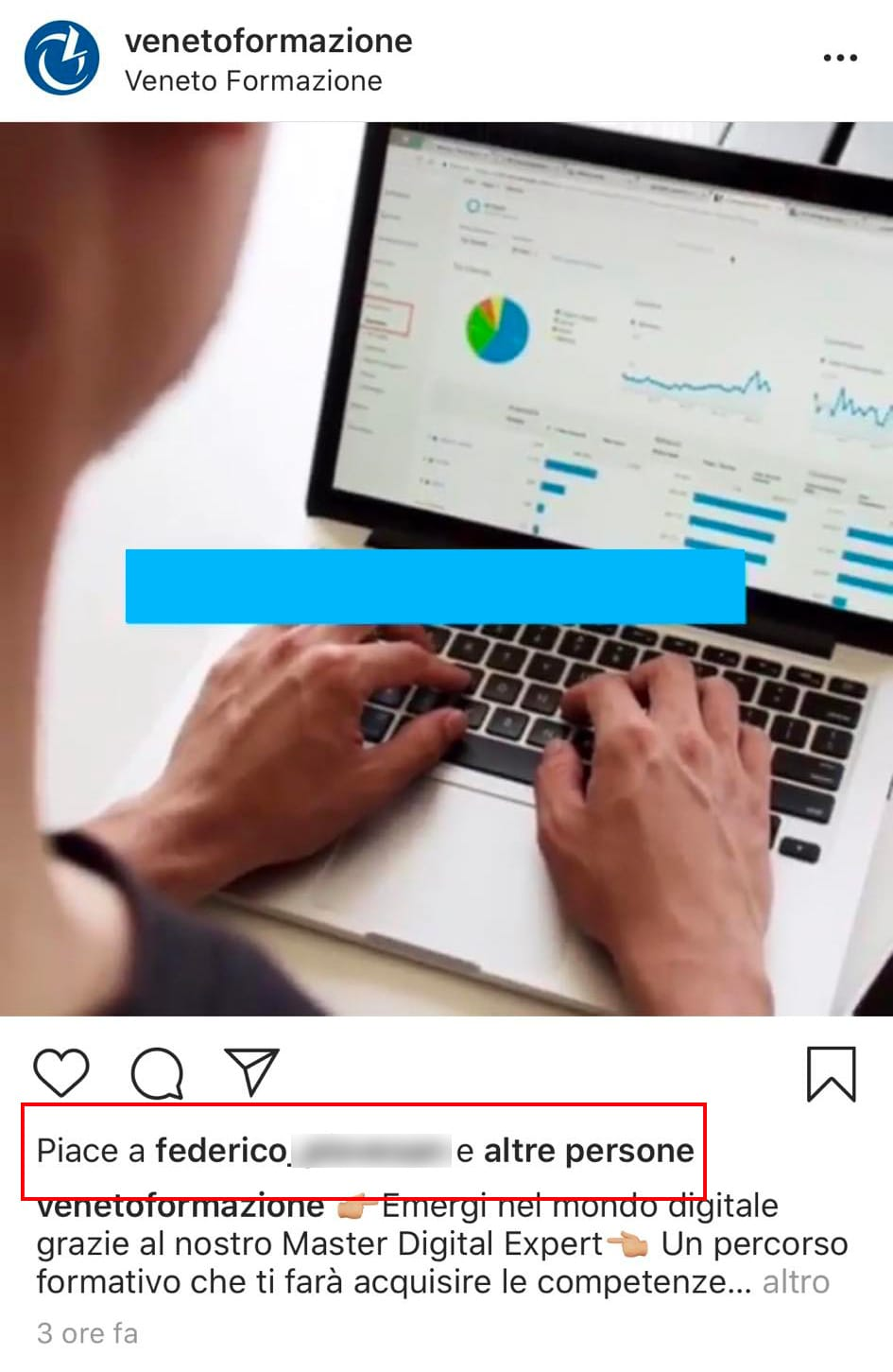 post instagram senza like